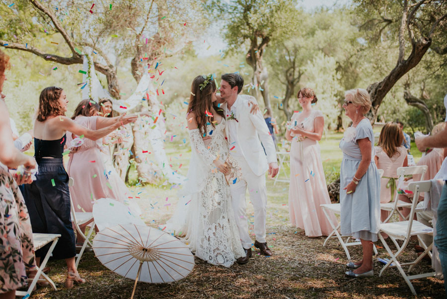 Enchanting Dubrovnik Island Wedding with Rue de Seine Bride: Lucy & Nick