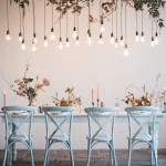 Industrial Chic Wedding Tablescape