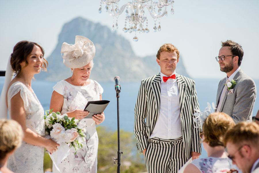 Chandeliers & Ostrich Feathers, Glam Boho Wedding in Ibiza: Nicola ...