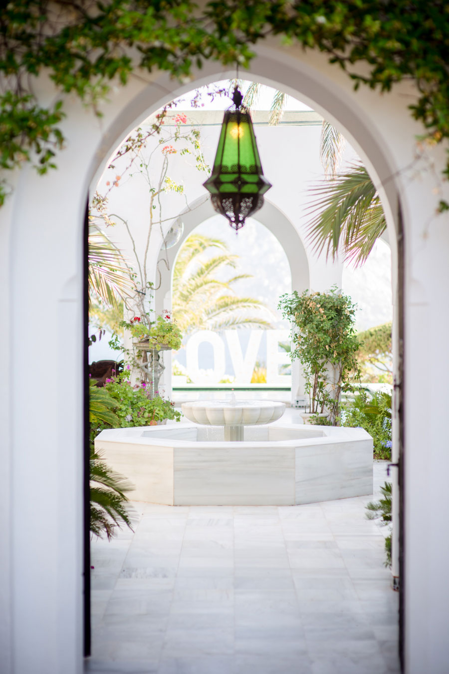 Chandeliers Amp Ostrich Feathers Glam Boho Wedding In Ibiza