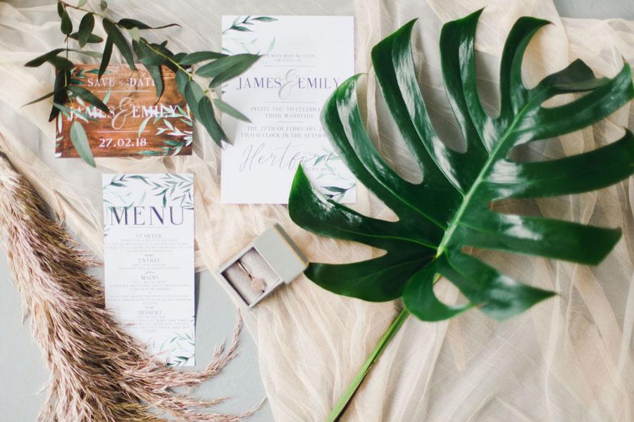 Pampas Grass & Botanical! Rose Gold & Copper Boho Bridal Inspiration
