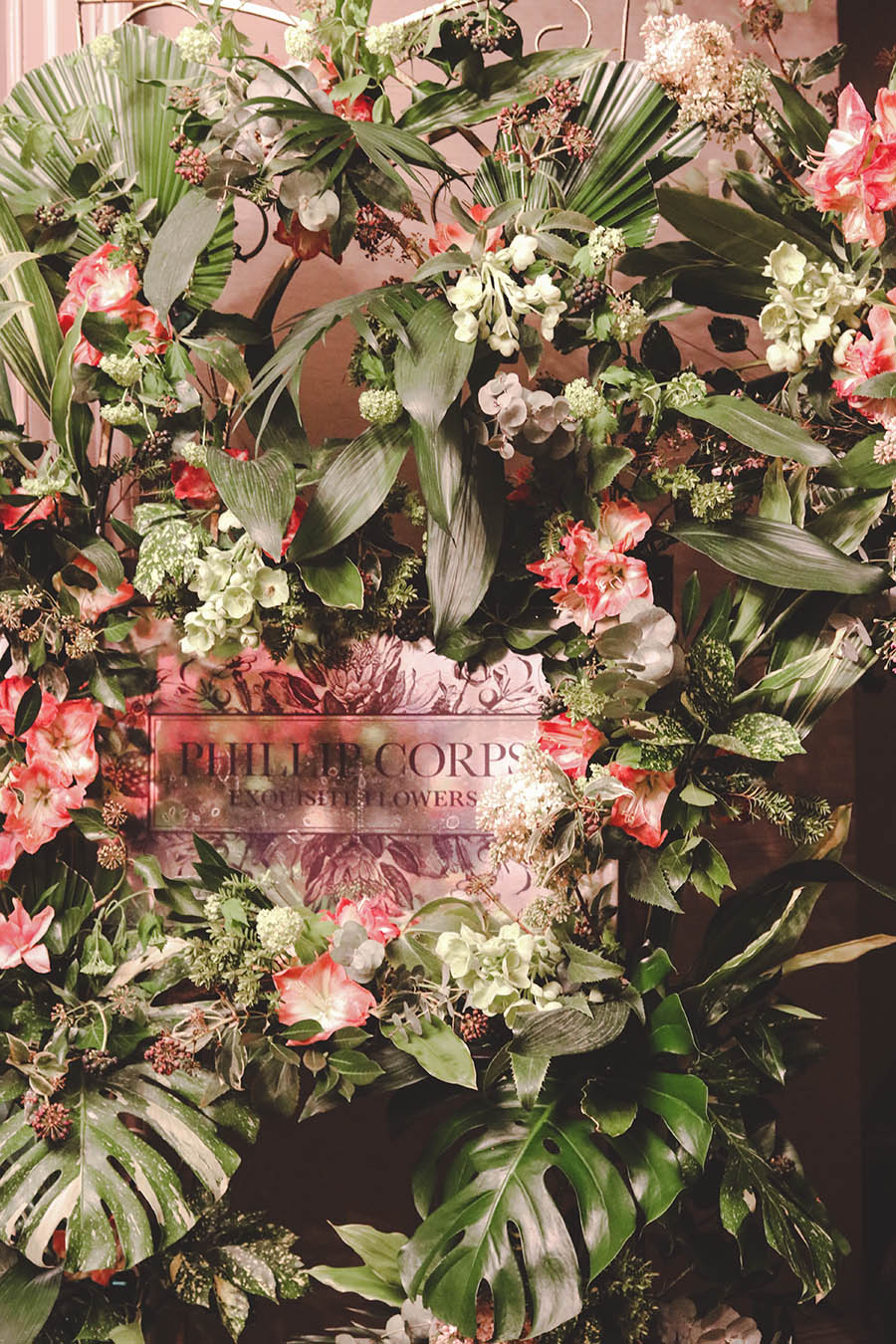 Bridelux Atelier London 2018 Phillip Corps Flowers