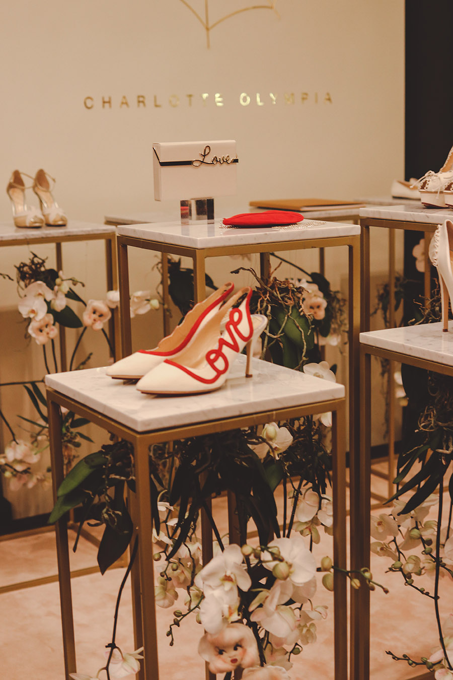 Bridelux Atelier London 2018 Charlotte Olympia