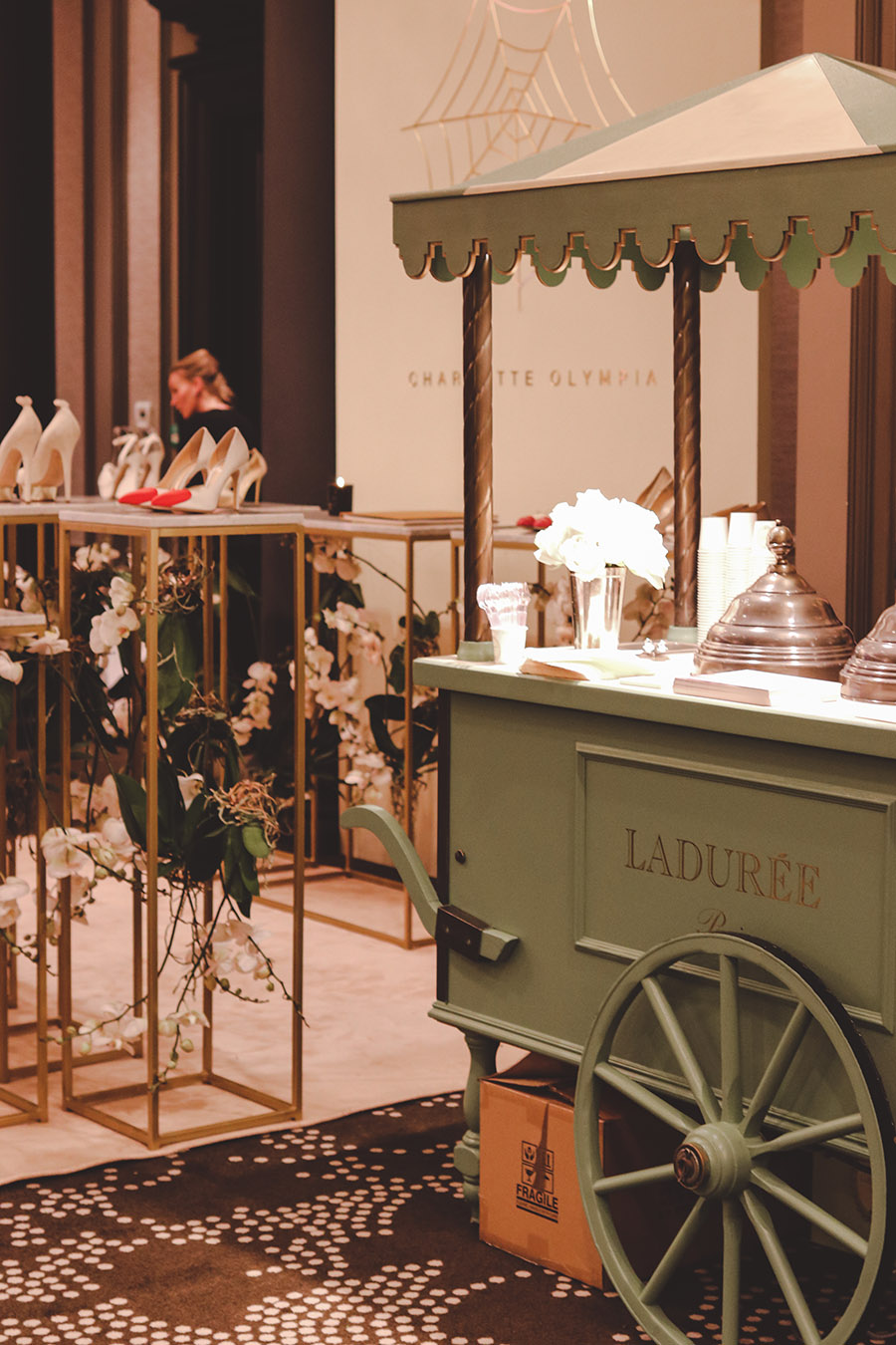 Bridelux Atelier London 2018 Laduree