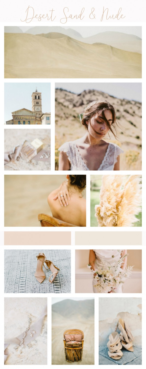 Desert Sand & Nude Wedding Inspiration