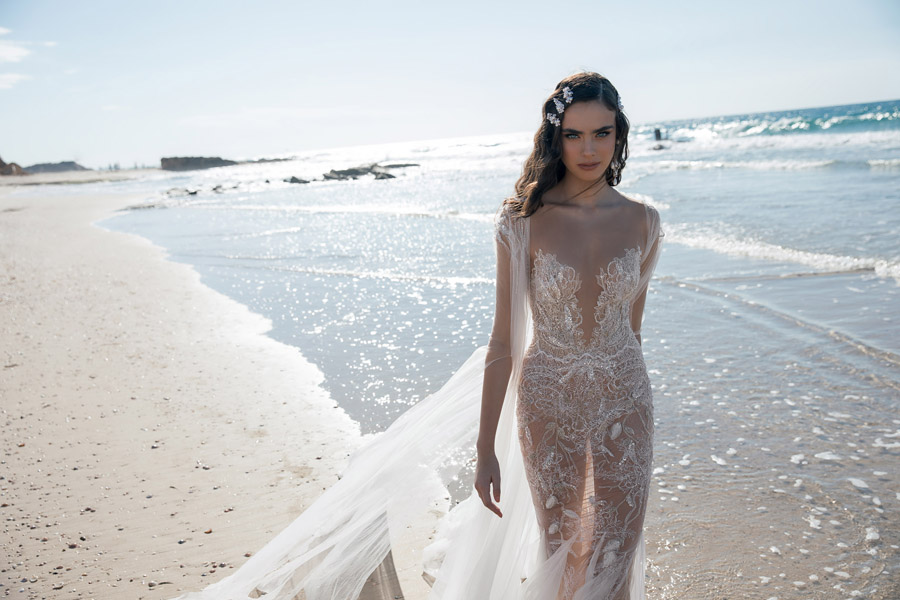 Daring & Playful Wedding Dresses for 2018 by Meital Zano