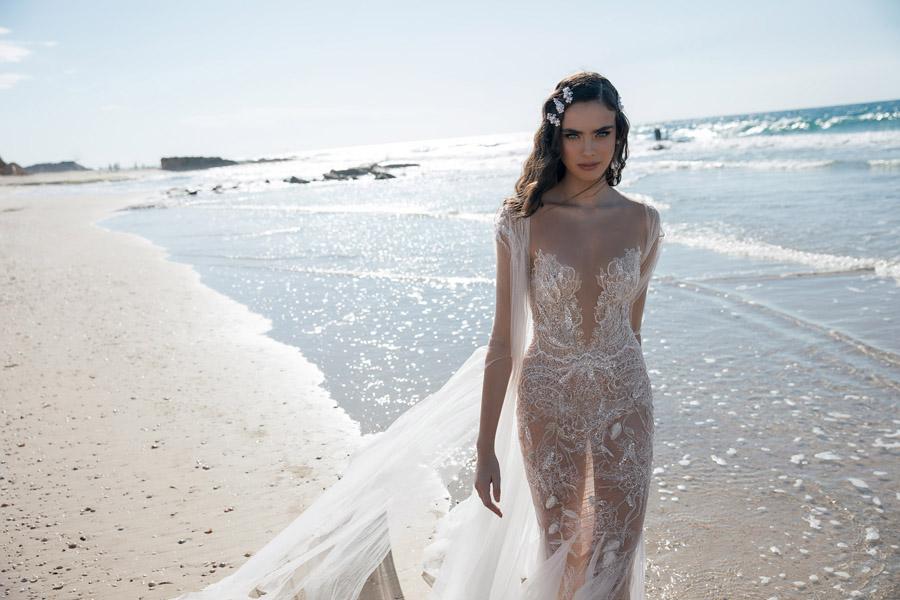 Daring & Playful Wedding Dresses for 2018 by Meital Zano
