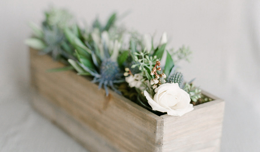 Pretty Sage & Succulents Wedding Inspiration