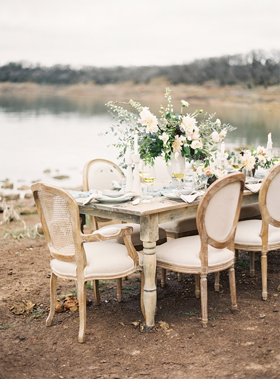 Gorgeous Blue Grey and Gold Wedding Inspiration