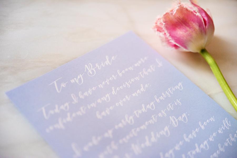 Blue, Peach & Blush! Pretty Summer Garden Wedding Inspiration