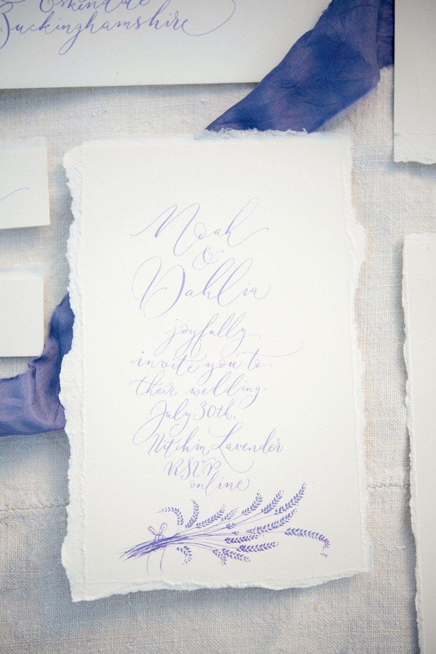 Lovely Lavender Wedding Inspiration