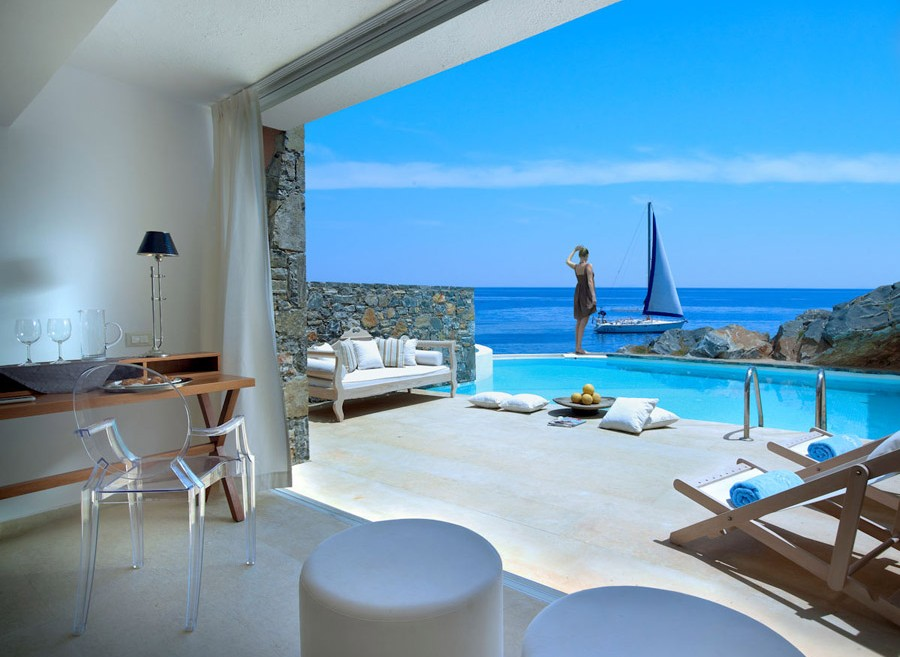Crete_St Nicolas Bay_club studio suite private pool