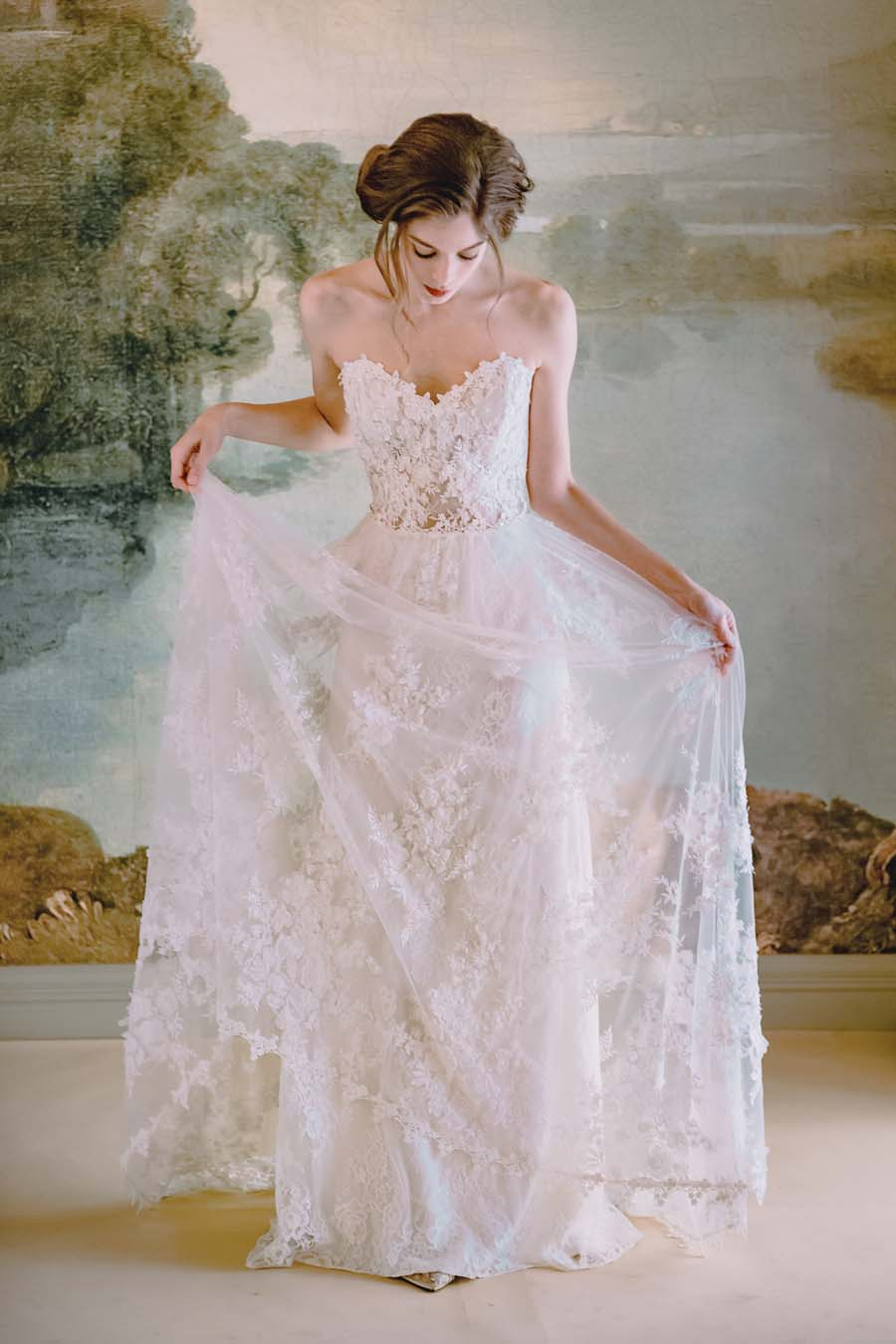 The Timeless Bride Wedding Gown Collection By Claire Pettibone
