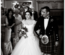 Tangled up in love ~ a gorgeous scottish wedding!