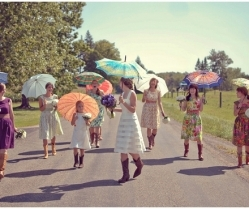 Cute and Cool. Alternative Bridesmaid Dresses: Sohomode