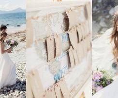 A Beautiful & Breathtaking, Celtic Handfasting Wedding By The Sea: Sarah & Neil