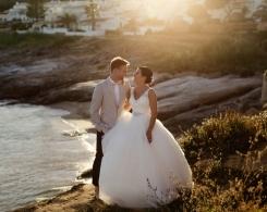 A DIY Peach & Rose Gold Wedding In Portugal: Laura & Simon