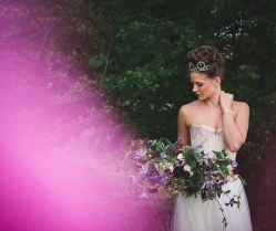 A Late Summer Renaissance-Meets-Fantasy Themed Bridal Shoot