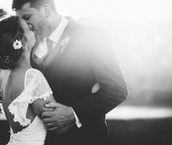 A Minimalist Rustic Wedding With Cornish Moors Backdrop: Katie & David