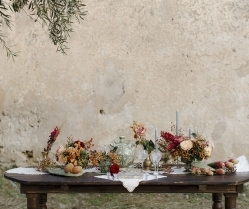A Sicilian Romance! A Natural & Elegant Old World Charm Bridal Editorial