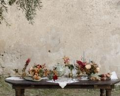 A Sicilian Romance! A Natural & Elegant Old World Charm Bridal Editorial