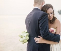 Beautiful Destination Wedding in Thailand With Floral Gown Bride! Jayne & Justin