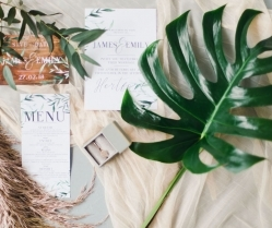 Pampas Grass & Botanical! Rose Gold & Copper Boho Bridal Inspiration