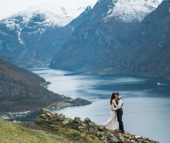 Breathtakingly Scenic Wedding in Norway: Christine & Josh