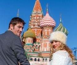 Brett & Amelia's World Wedding Tour: The Kremlin, Moscow!