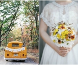 Burnt Orange And Mustard Yellow Wedding Theme