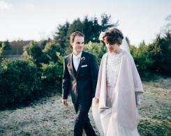 Cain Manor Whimsical Winter Wedding: Sarah & Jonathan