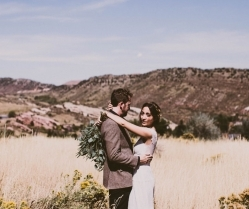 Beautiful & Earthy Boho Chic Wedding: Chelsie & Jeremiah