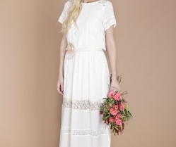 Eco Luxe Boho Wedding Dresses by Minna!