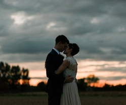 A Rustic Minimalist, Farm Wedding: Emma & Sam