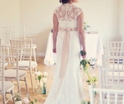 Beautiful, English Country, Cornish Garden Wedding Inspiration