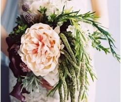 Destination Wedding Bouquets: Stunning Silk Floral Flowers!