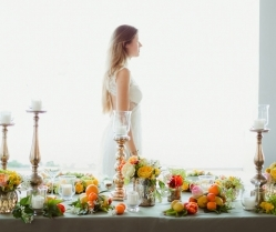 A Stylish & Vibrant Bridal Editorial on the French Riviera