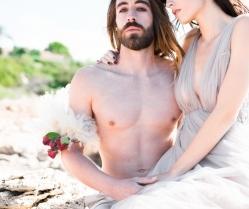 Hippie Bohemian Wedding Inspiration in Sounio, Greece