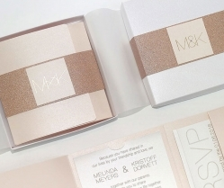 Glam & Pretty: Handcrafted Artisan Wedding Cards & Stationery by Polina Perri Design Studio