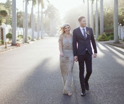 Gold, Black & Pink Alternative Glam Wedding in Durban: Chris & Tarryn