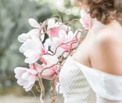 Beautiful Wedding Inspiration: All Blossoms and Blush