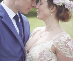 Romantic Boho Wedding With A Beautiful Claire Pettibone Wedding Dress: Kyla & Keith