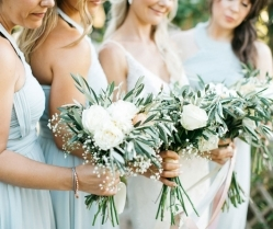 Beautiful Rustic Villa Wedding in Crete With a Muted Pastel Colour Scheme: Laura & Ross