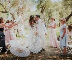 Enchanting Dubrovnik Island Wedding with Rue de Seine Bride: Lucy & Nick