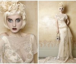 1920s wedding dress inspiration from Yolan Cris ~ Mademoiselle Vintage
