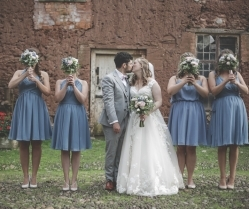 A Subtle Midsummer Night's Dream Wedding: Christine & Tom