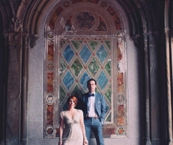 New York Elopement With Sparkly BHLDN Wedding Dress