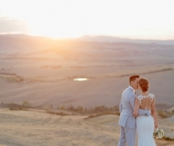 Beautiful Creme, Beige & Blush Wedding in Tuscany: Katherine & Howard