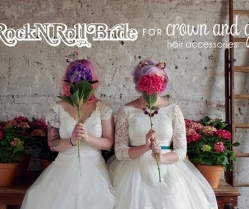 Friday Finds: Rock n'Roll Bride For Crown & Glory: Hair Accessories