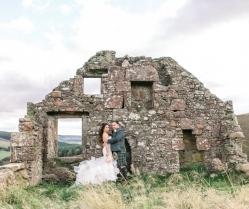 An Opulent Autumn Wonderland Wedding: Julia & Charlie